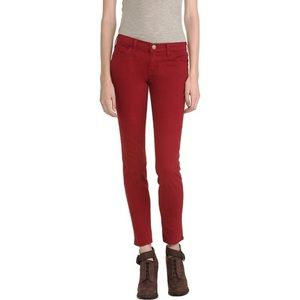 Current/Elliot | Skinny Ankle Jeans in Red Crimson